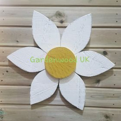 Single 30cm Wooden Flower