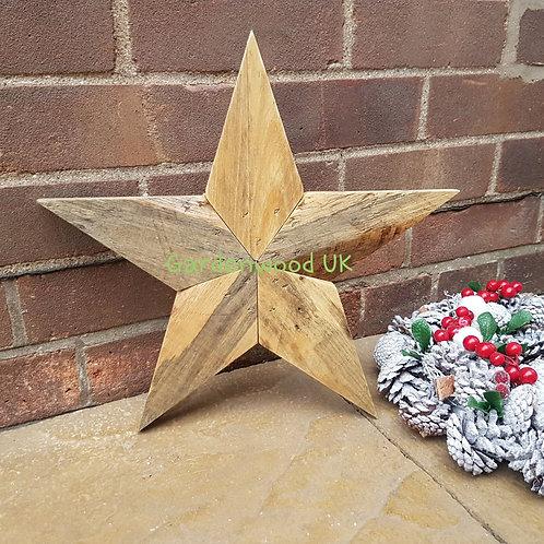 Handmade Rustic Wooden Star