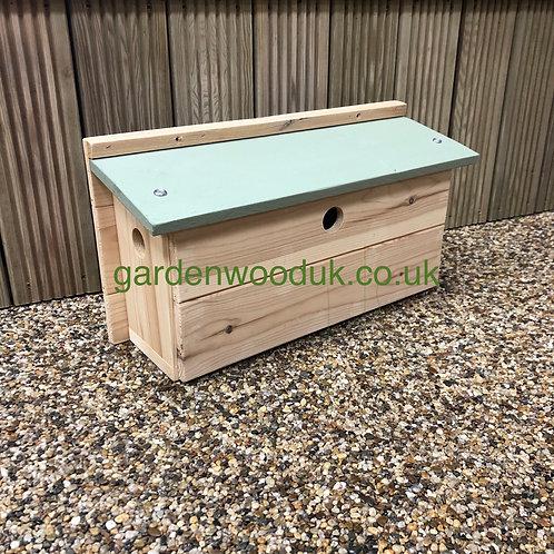 Sparrow Terrace Bird Box - Different Colours Available