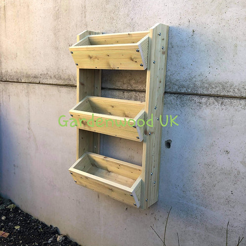 3 Tier Wall Mounted Planter (H)