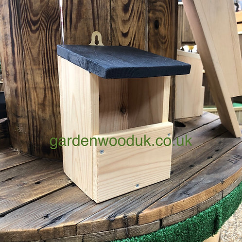 Open Fronted Bird Box - Different Colours Available
