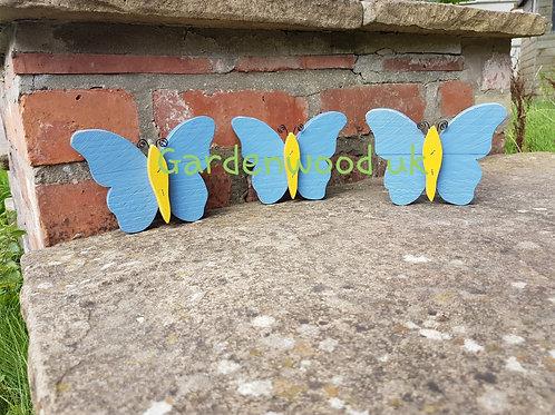 Set of 3 Butterflies (15cm)