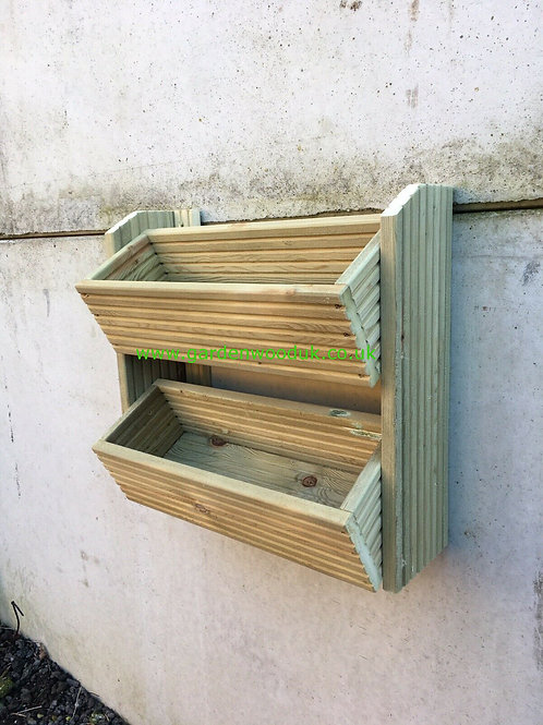 2 Tier Wall Mounted Planter
