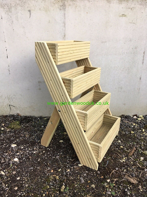 4 Tier Freestanding Planter