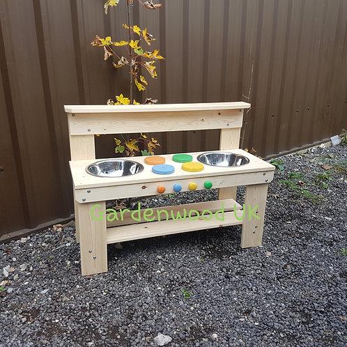 Garden Mud Kitchen (Double Bowl)