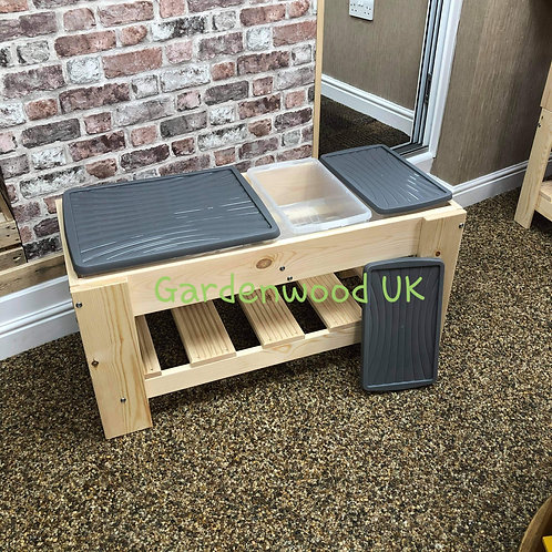 1000mm Triple Sand and Water Table