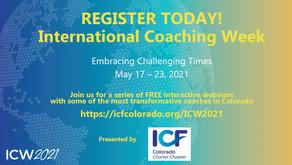 Presenting Working Genius webinar for International Coaching Week