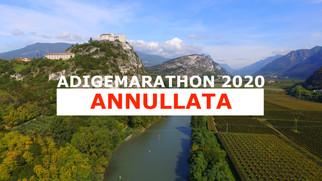 COMUNICATO STAMPA: ANNULLATA ADIGEMARATHON 2020