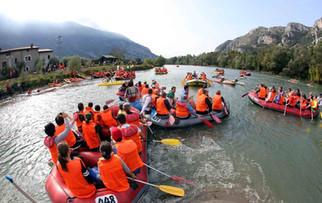 Adigemarathon in Rafting - Discesa amatoriale
