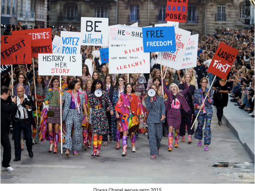 Women's time: how modern feminism is changing the fashion industry