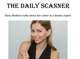 Daria Mudrova Interview The Daily Scanner