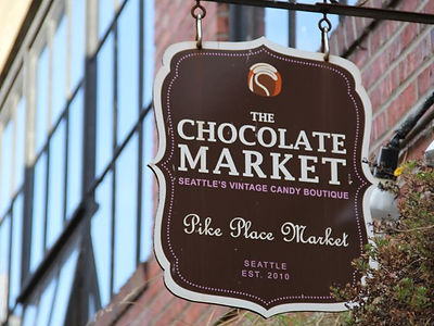 The Chocolate Market at Pike Market