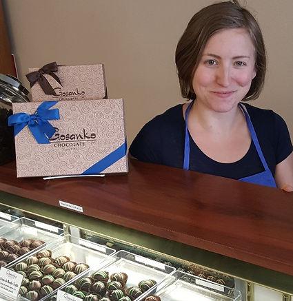 Gosanko Chocolat Employee