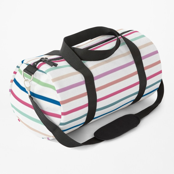 Brite Stripe Duffle Bag