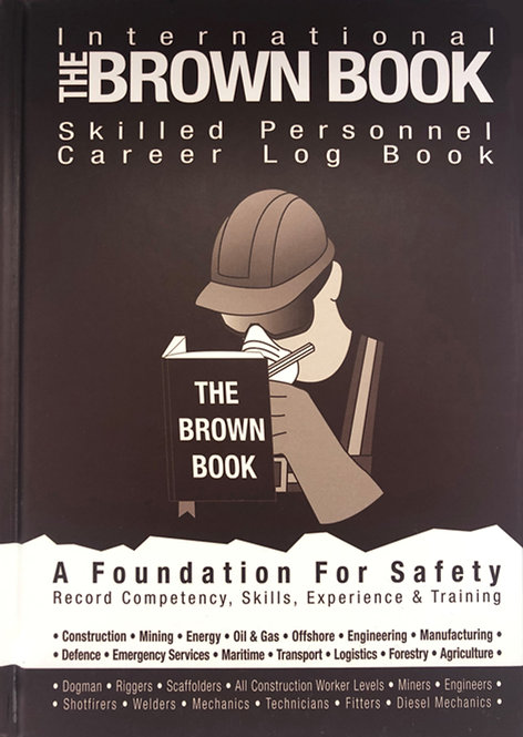 The Brown Book: Skilled Personnel Career Log Book