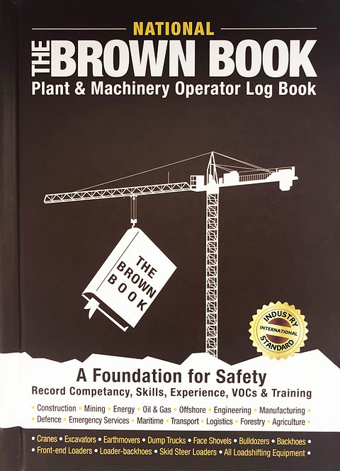 The Brown Book: Plant & Machinery Operator Log Book