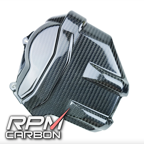 DUCATI PANIGALE V4 CARBON FIBER ENGINE CAM COVER