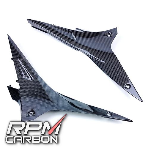 APRILIA RSV4/TUONO CARBON FIBER SUBFRAME SIDE PANELS
