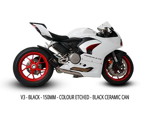 Ducati V2 GP3 Decat System