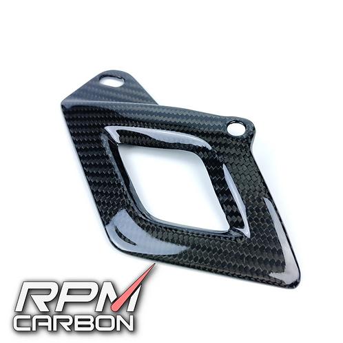 APRILIA RSV4/TUONO CARBON FIBER LOWER CHAIN GUARD COVER
