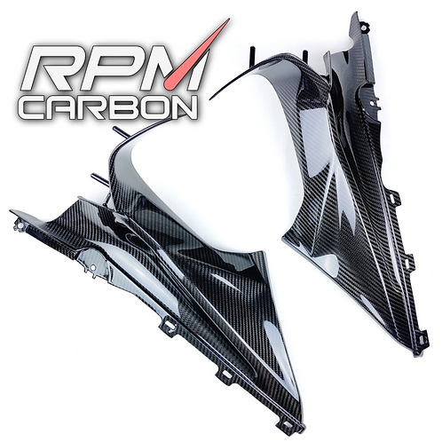 BMW S1000RR 2020 CARBON FIBER DASH BOARD SIDE COVERS