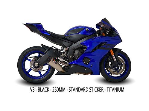 R6 2008-2021 GP3 Full Titanium System