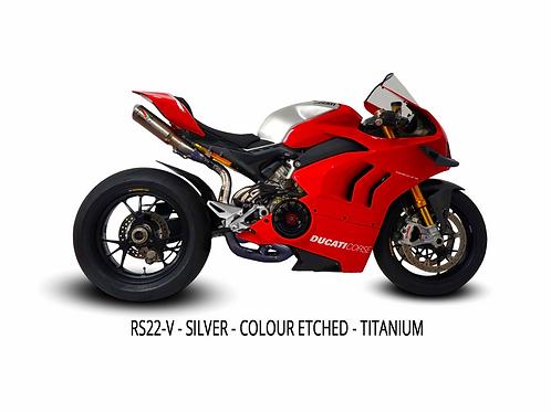 Ducati Panigale V4 2020 RS22 Titanium Full System