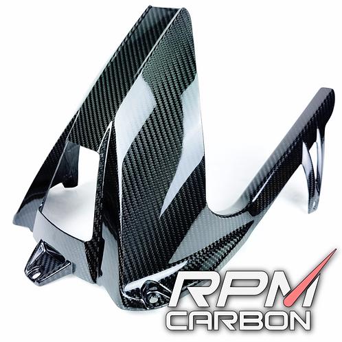 BMW S1000RR / S1000R CARBON FIBER REAR FENDER CHAIN GUARD HUGGER MUDGUARD