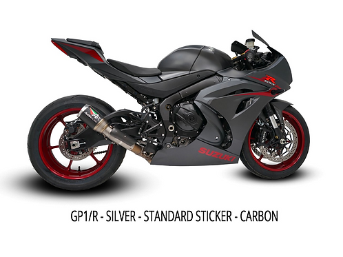 GSXR1000-RR L7+ Slip On