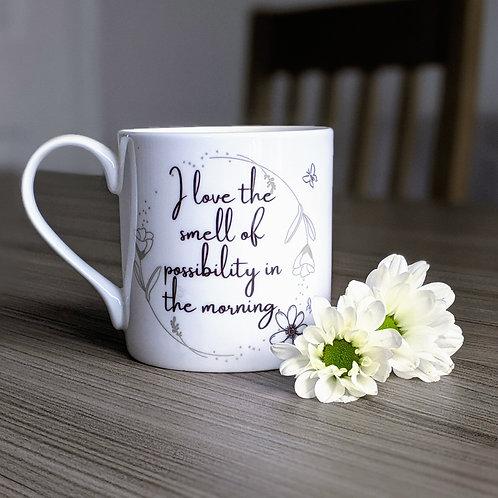 Motivation quote mug - Aspire range - Possibility