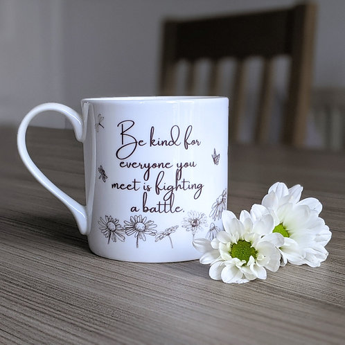 Compassion quote mug - Grace range - Fighting