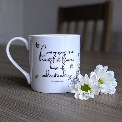 Compassion quote mug - Grace range - Understanding