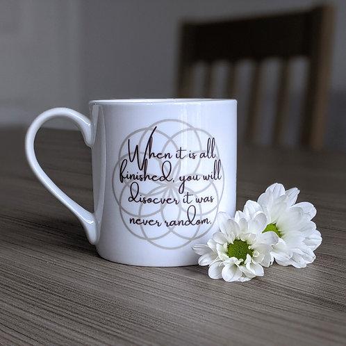 Self Growth quote mug - Dharma range - Discover
