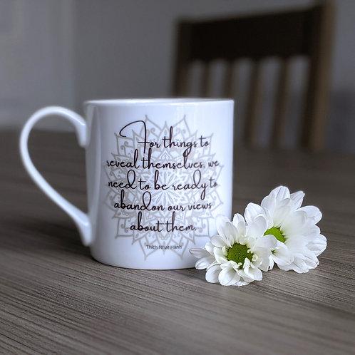 Self Growth quote mug - Dharma range - Reveal
