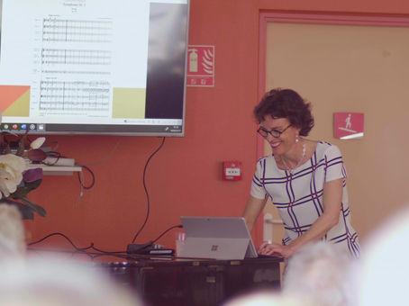 Conférence de musicologie - Sophie Gaillot Miczka