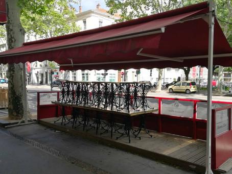 La Ville de Lyon devrait accorder la gratuité totale des terrasses de la Presqu'île cet été.