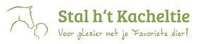 logo Stal h't Kacheltie - groen op wit.j