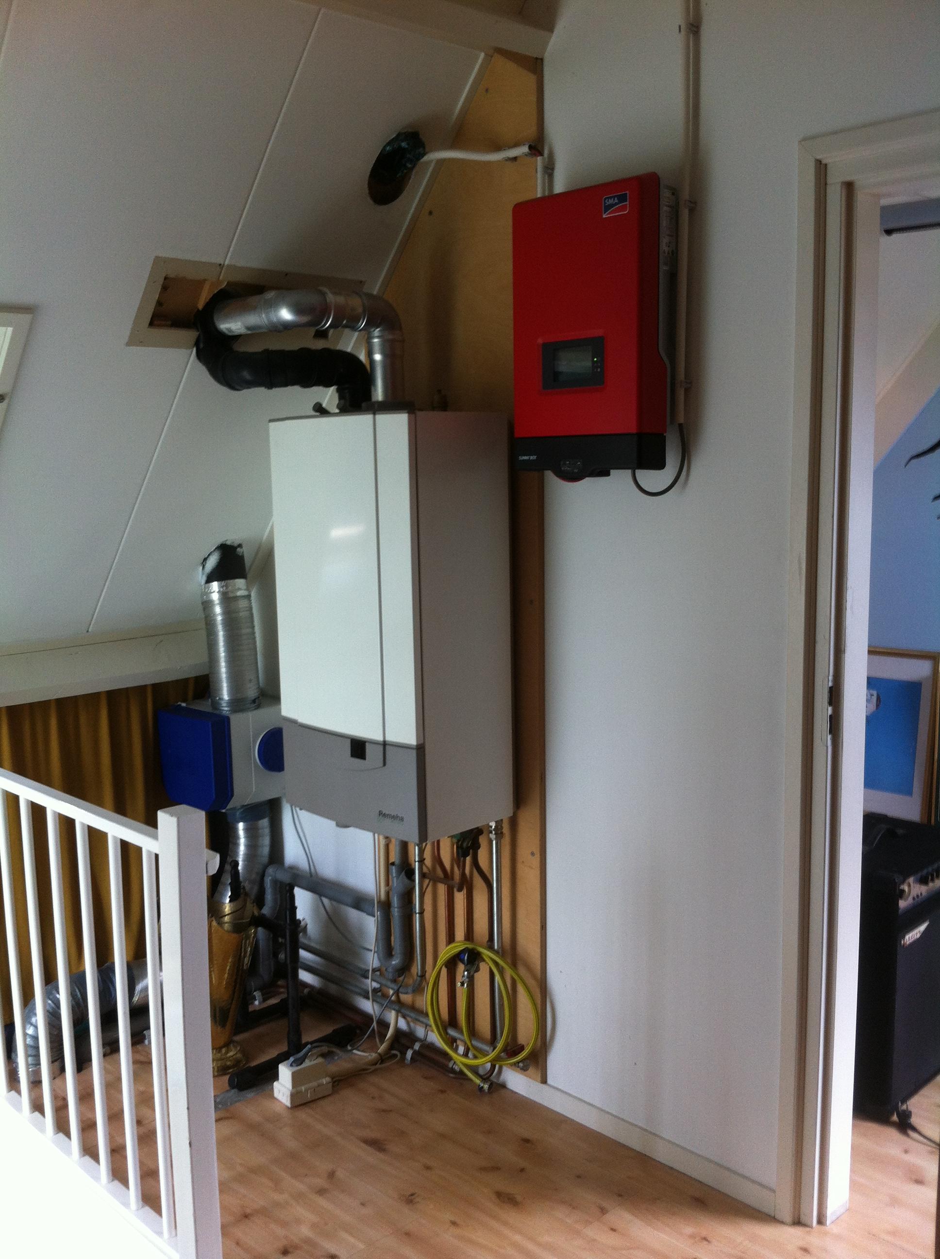 Centrale verwarming woonhuis