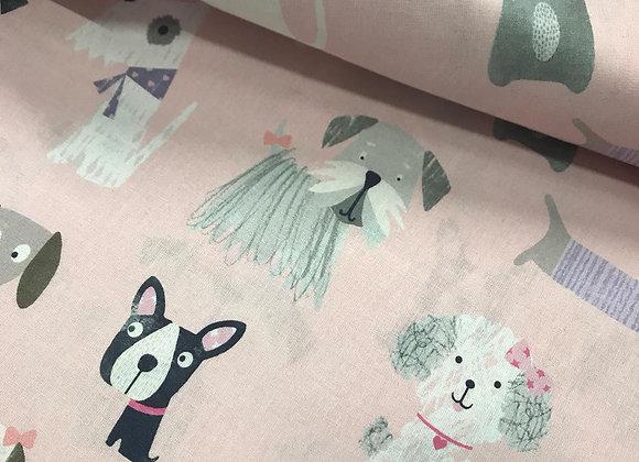 Cotone baby dog rosa