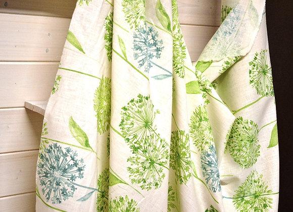 Linone soffioni verdi