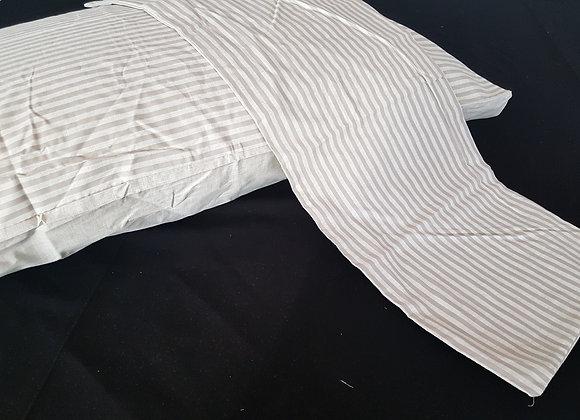 Coppia federe cotone Lines