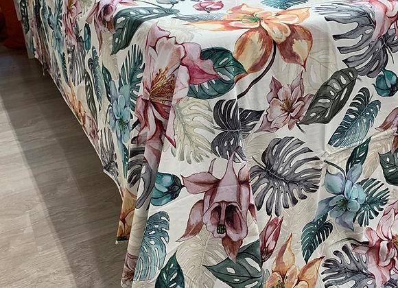 Completo letto floral