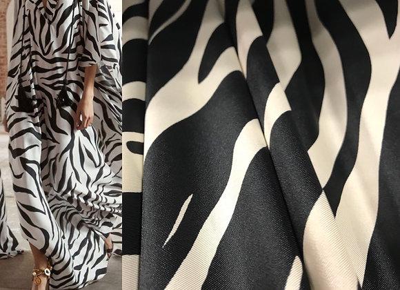 Scampolo viscosa zebrato