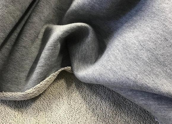 Scampolo felpa grigio