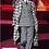 Thumbnail: Seta scozzese tipo Gucci