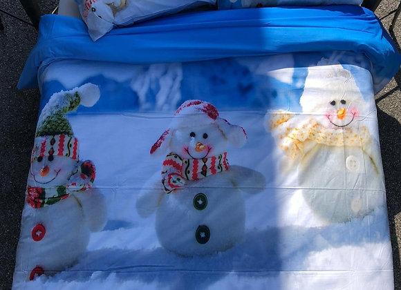 Copripiumino Snowman