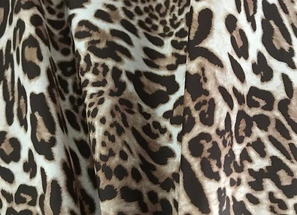 Tessuto impermeabile animalier