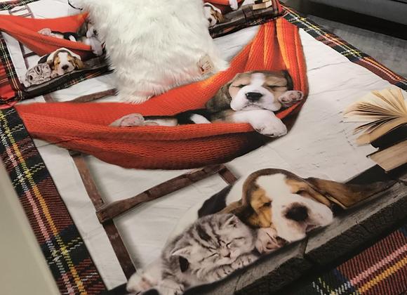 Copripiumino relaxing dog