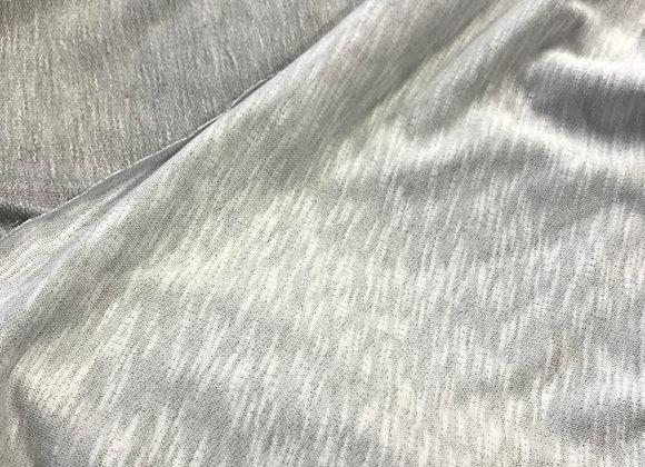 Scampolo felpa grigio melange