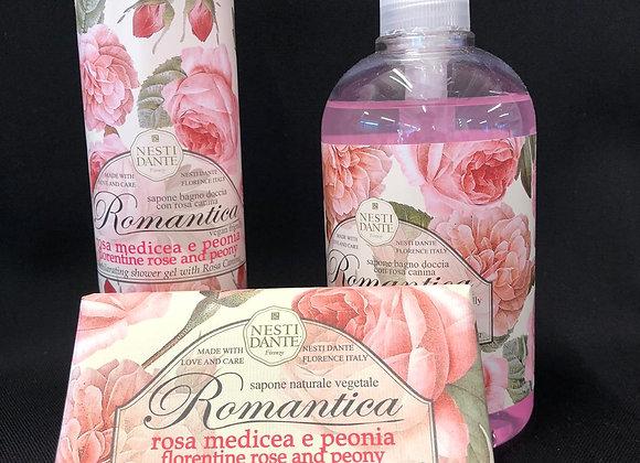 Rosa medicea e peonia